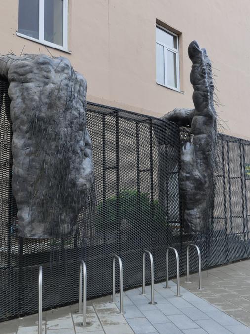 Moderne Kunst in der Stadt